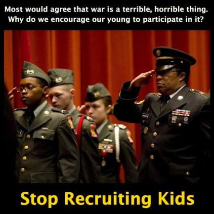 Image: https://www.facebook.com/StopRecruitingKids