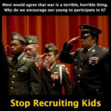 Image: https://www.facebook.com/StopRecruitingKids