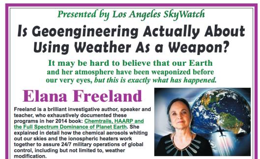 Los Angeles Skywatch Presents: IS GEOENGINEERING ACTUALLY